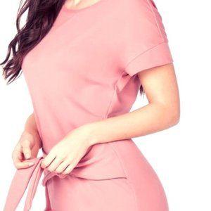 Tie Waist Dress NWOT | Size XL | Vintage Pink!